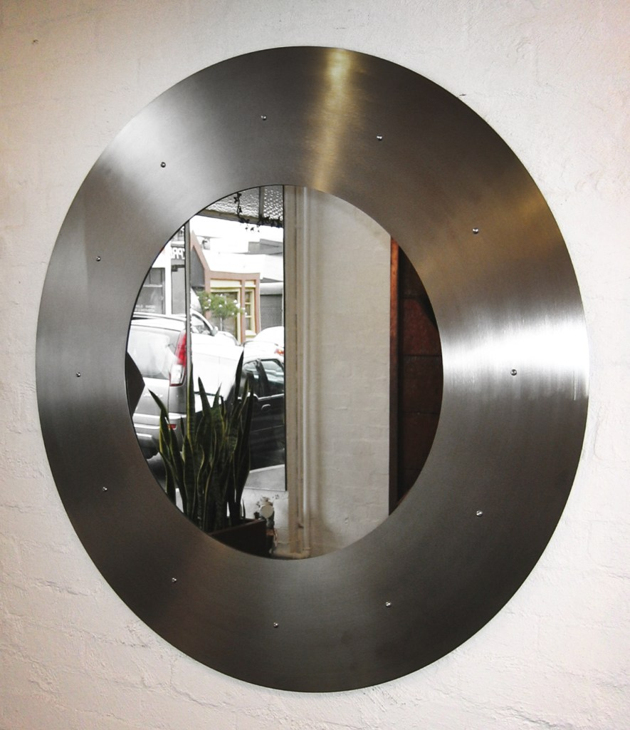 stainless steel mirror by PLR Design