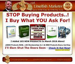 Unselfish Marketer Banner Image