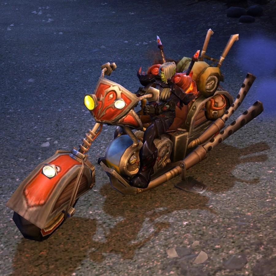 【美服】魔兽世界坐骑:机械路霸Mechano-Hog@PLS173.com