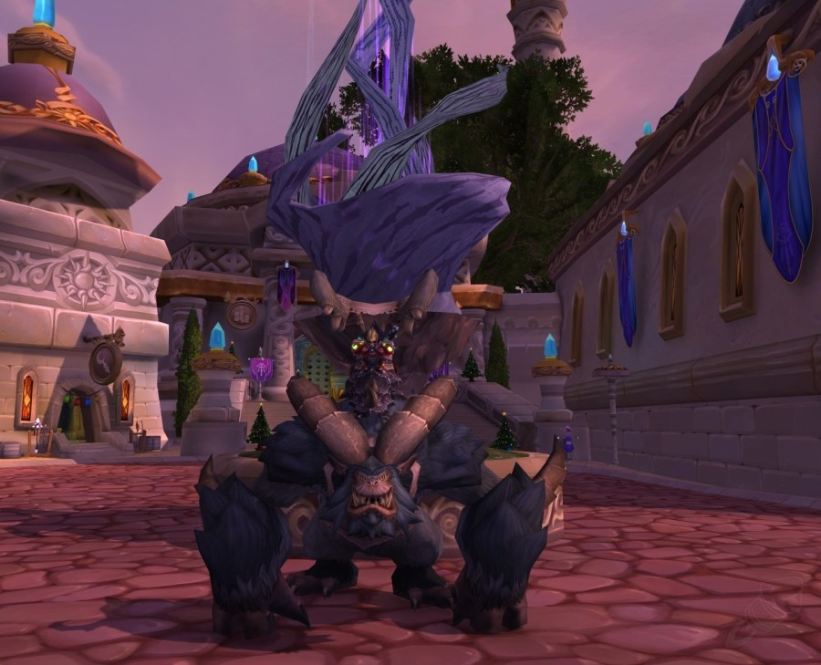 【美服】魔兽世界坐骑:格噜普斯的爪牙Minion of Grumpus@PLS173.com