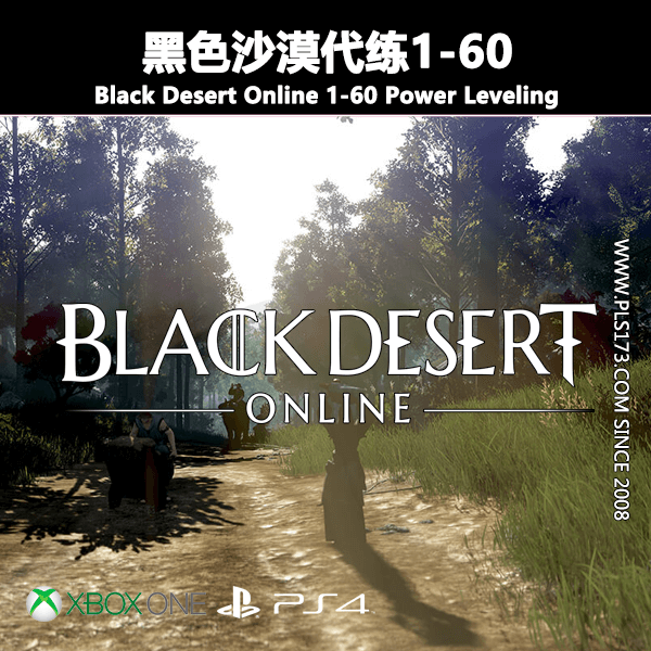 【XBOX/PS4】黑色沙漠代练1-60