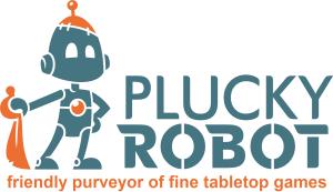 Plucky Robot Logo