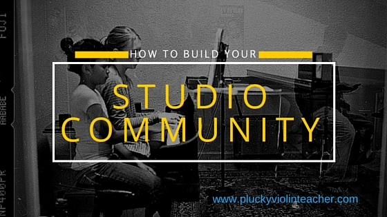 Do you want happier music students and a more secure income? Maybe you need to build your music studio community. Here are seven ways to do just that.