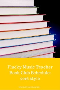 An online book club for music teachers.