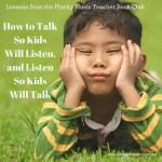 Violin Teacher Book Club: How to Talk so Kids will Listen and Listen so Kids will Talk… Edition