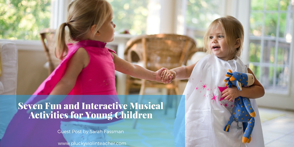 Try these musical activities for young children in your home and have fun while watching your family's love of music grow.