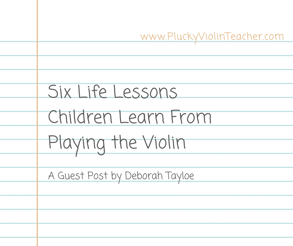 Six Life Lessons Children Learn from Playing the Violin via Plucky Violin Teacher
