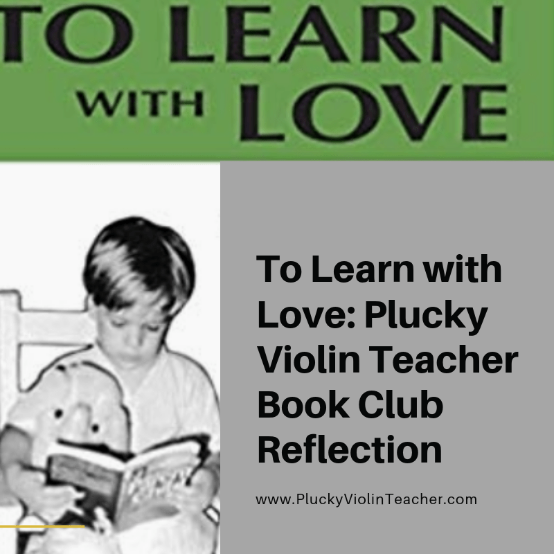 Plucky Violin Teacher Book Club Review