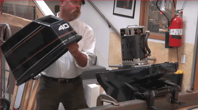 Jamie Hyndeman of Mythbusters converts a jet motor to electric