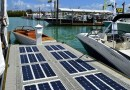 Solar docks have 'batteries included'