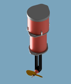 Nagivaflex Rotatable Pod Motor
