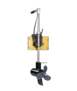 Krautler electric outboard boat motor adjustable shaft