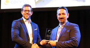 Presentation of the award for Supplier of The Year to Corvus Energy