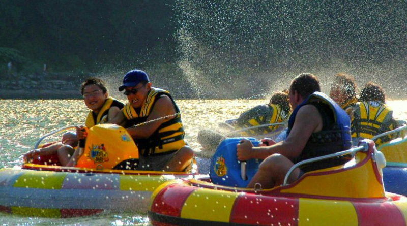 It's summer – time for electric Bumper Boats!!