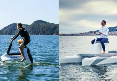 Riding on water – 2 new electric 'watercycles'