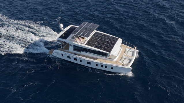Solar electric ocean yacht by Silent Yachts