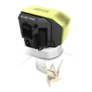 Photo of Volvo Penta's first all-electric saildrive motor