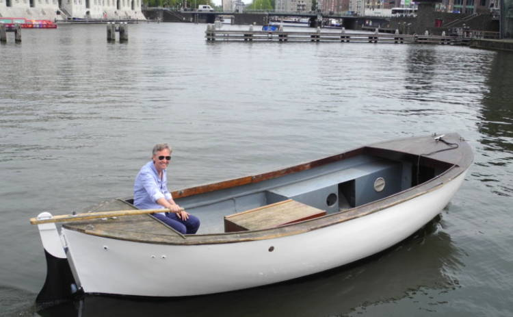 AEE Marine electric traditional Dutch boat
