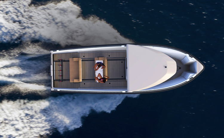 Electric tender boat by DutchCraft