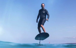 Fliteboard electric hydrofoiling surfboard