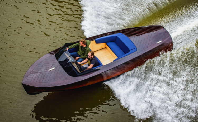 Keelcraft electric boat