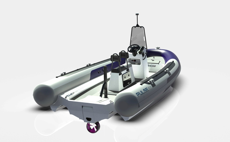RS Electric Boats Pulse 58 RIB boat