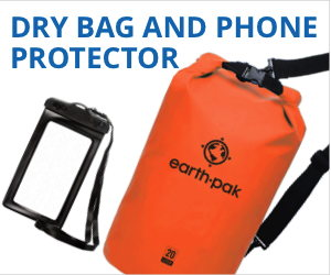 Dry bag and waterproof phone case
