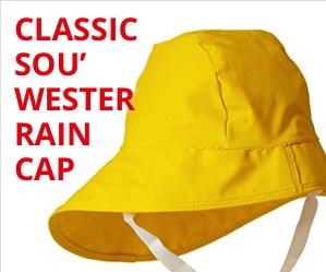 Souwester rain cap