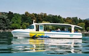 Grove Boats Aquarel solar electric boat