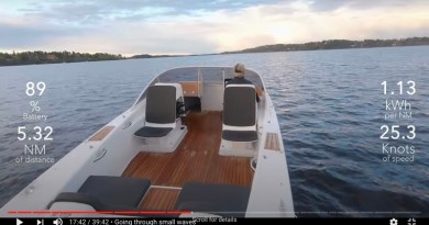 Take this 37 minute electric boat virtual sea trial