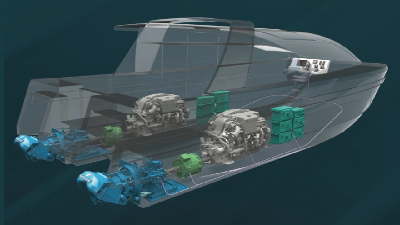 Jet Boat Pioneer Unveils Electric Hybrid Waterjet Plugboats