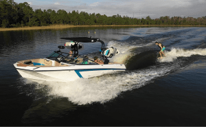 Nautique GS22E electric boat
