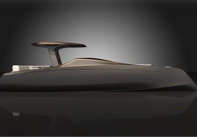 New sleek, sustainable 33′ electric power catamaran