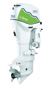 most powerful electric outboard in the world - the Evoy 150