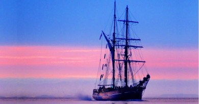 Historic Zebu world's 1st tall ship with electric motor