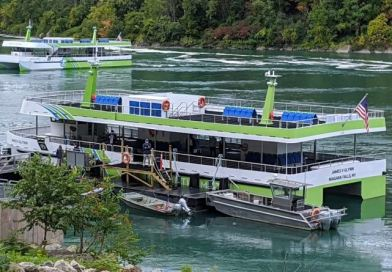 New Niagara Falls electric ferries have set sail!