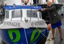 1st UK electric ferry makes a splash in Plymouth