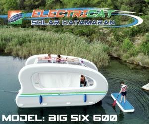 Electricat Solar Boat