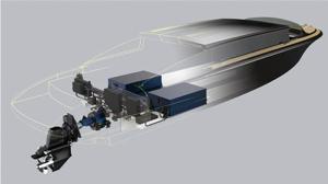 electric tenders diagram showing batteries under passenger compartment