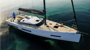 Elan yacht G6, which will be available with Oceanvolt electric motors