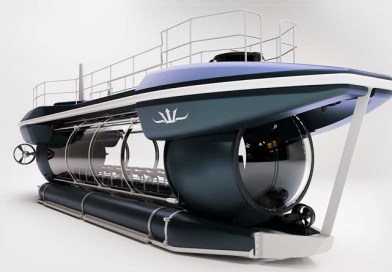 Electric powered submarine can take 24 passengers 100 metres deep