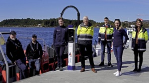 e-boat supercharger in Floro, Norway