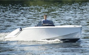 Electric Boat Awards nominee Frauscher Mirage Air 740