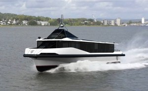 electelectric boat awards Green City Ferries prototype