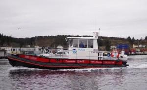 gussies electric boat awards - Helgeland Plast workboat