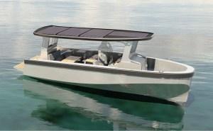 freepower solar powered electric boat