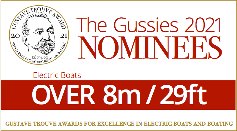 Words: Electric boat awards nominees: Over 8m / 26ft
