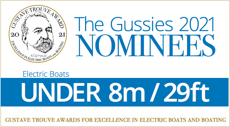 Words: Electric boat awards nominees: Under 8m / 26ft