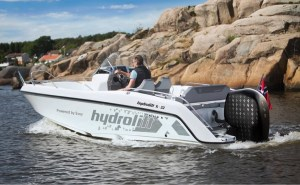 gussies electric boat awards hydrolift E-22