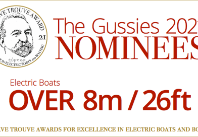 2021 Gussies Electric Boat Awards Nominees: Electric Boats Over 8m / 26 ft
